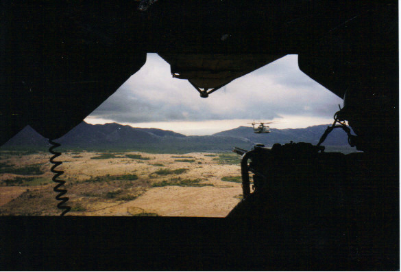 Low Level over Bosnia